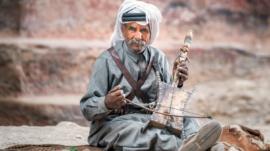 Petra,,Jordan,-,October,24,,2016:,Portrait,Of,Local,Bedouins