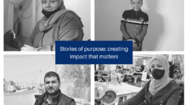 Stories of purpose creating impact that matters