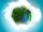 Sustainable,Earth,Concept,,Globe,With,Wind,Mills,And,Green,Continents,