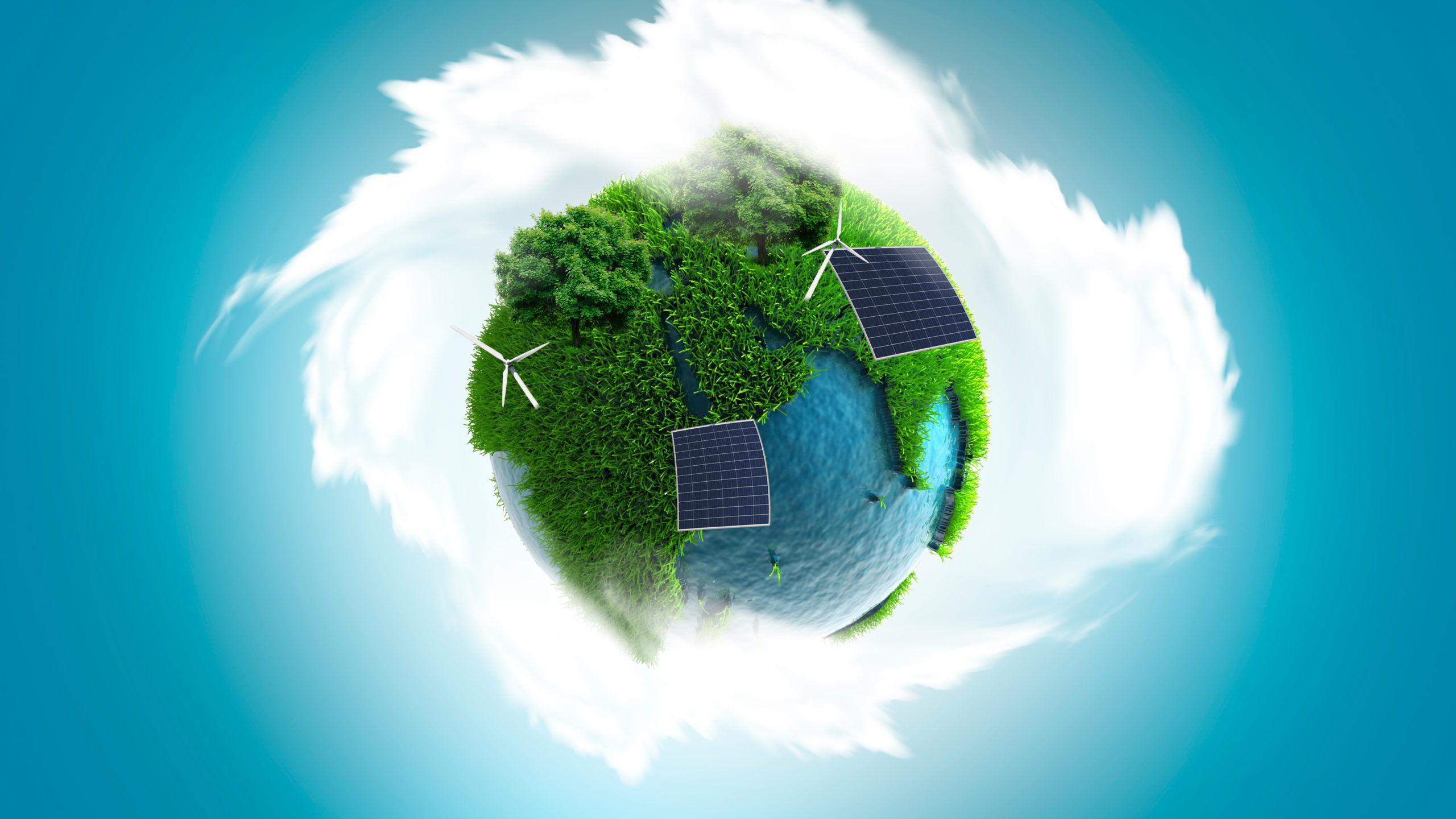 Making peace with nature through green innovation